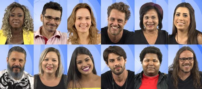 Participantes BBB 16 (Foto: Gshow)