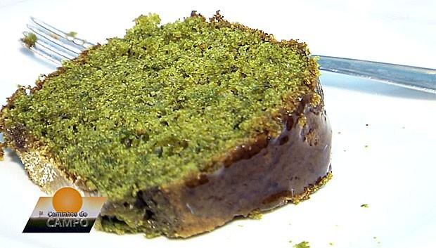 Bolo de erva mate Caminhos do Campo  (Foto: Reprodução/RPC)