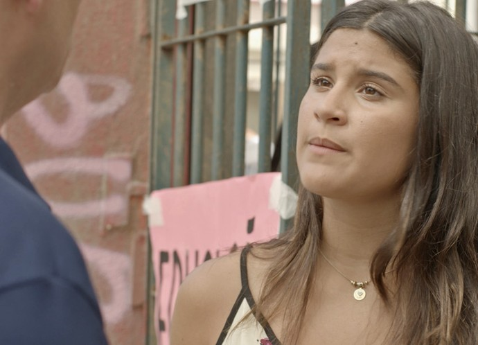 Eita! Lívia diz poucas e boas para Miguel (Foto: Tv Globo)