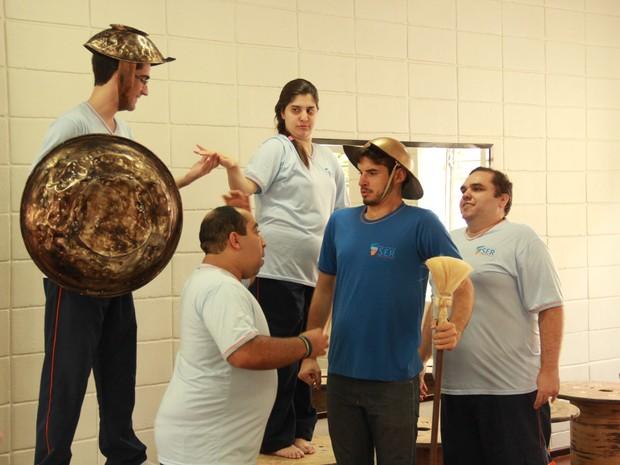 Espetáculo Dom Quixote (Foto: Arnaldo Ávila Junior)