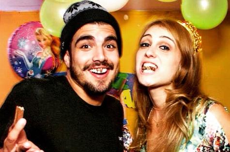 Caio Castro e Aimée Madureira (Foto: Reprodução)