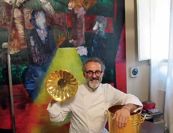 Massimo Bottura chefe Italiano (Foto: João Gabriel de Lima/ÉPOCA)