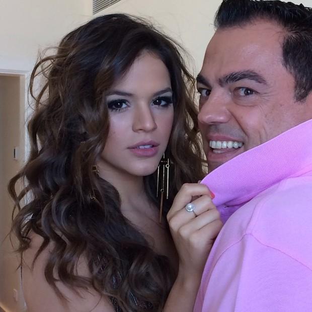 Bruna Marquezine e Marco Antonio de Biaggi (Foto: Reprodução/Instagram)