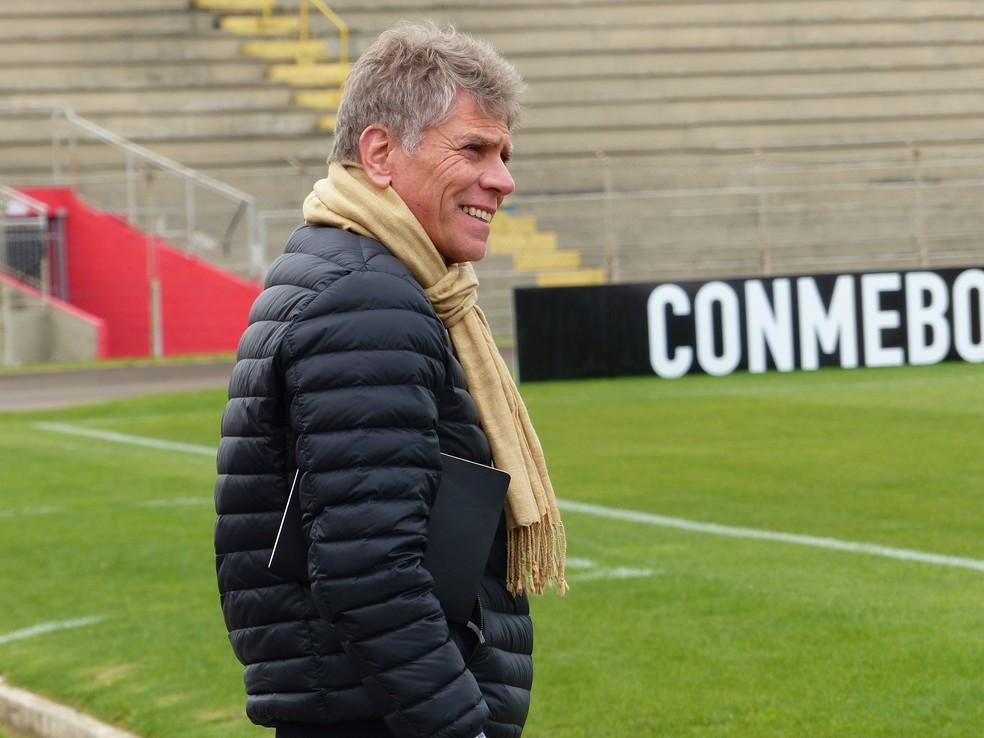De técnico a gestor, Paulo Autuori encerra ciclo no Atlético-PR (Foto: Monique Silva)