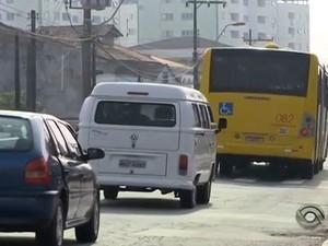 Plano de Mobilidade terá participação da população em Joinville (Foto: Reprodução/RBS TV)
