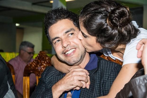 Camila Camargo e Zezé (Foto: Divulgação/Leandro Ribeiro)