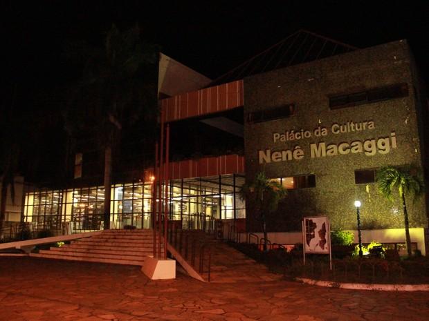 As exibições ocorrem na Videoteca do Palácio da Cultura Nenê Macaggi (Foto: Érico Veríssimo)