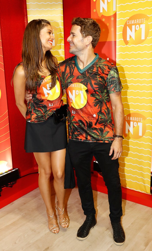 Sophie Charlotte e Daniel de Oliveira (Foto: Divulgação)