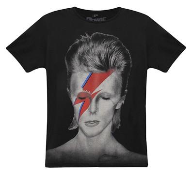 Camiseta David Bowie (Foto: Divulgação / Renner)