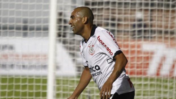 Emerson Sheik Corinthians (Foto: Gustavo Tilio / globoesporte.com)