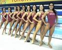 Há um mês longe de casa, meninas do nado controlam saudade por medalha