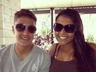 Morando no Havaí, filha de Romário volta para matar saudade do irmão