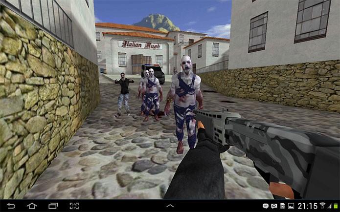 Critical Strike Portable é um clone de CS com modo zumbi (Foto: Divulgação/Critical Force)