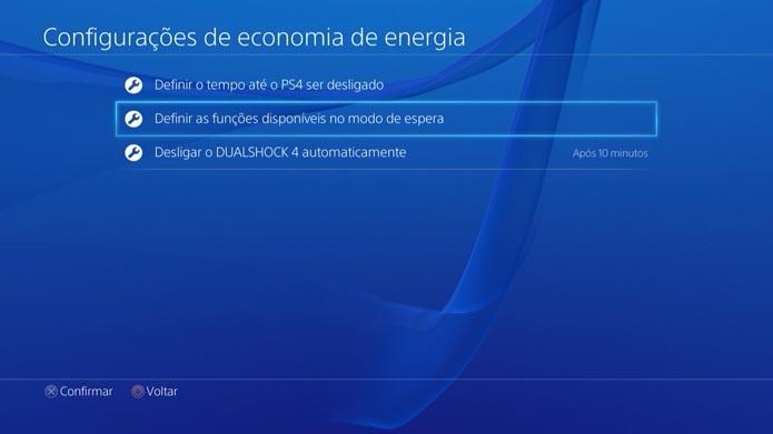Playstation 4: como fazer downloads com o console desligado (Foto: Reprodução/Murilo Molina)