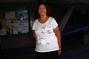 Maria de Lourdes, comadre de Sônia Abrão (Foto: Iwi Onodera / EGO)