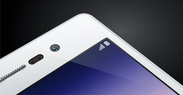 Ascend P7, da Huawei, é o melhor smartphone para selfies do mercado brasileiro (Foto: Divulgação)