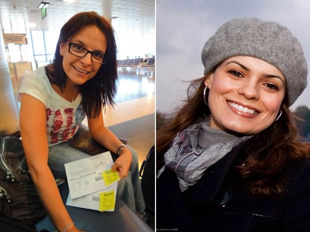 Patrícia Camargo e Adriana Miller, blogueiras de viagem (Foto: Arquivo pessoal)