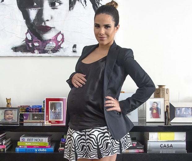 """""""Vou fazer de tudo para ter um parto normal. É o meu sonho"""", diz Wanessa"""