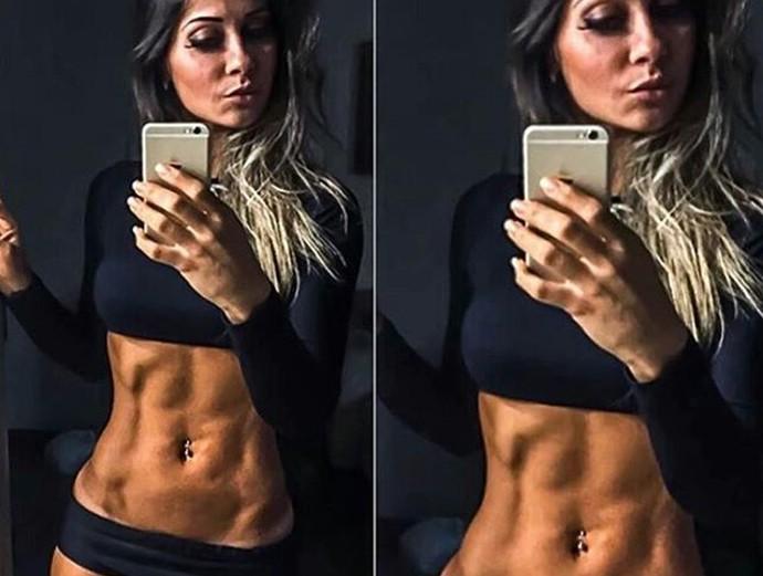 Mayra Cardi mostra barriga sarada (Foto: Reprodução internet)
