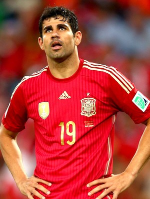 Diego Costa derrota Espanha  (Foto: Getty Images)