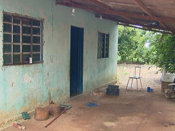 Casal foi morto em casa na área rural de Planaltina, DF (Foto: TV Globo/ Reprodução)