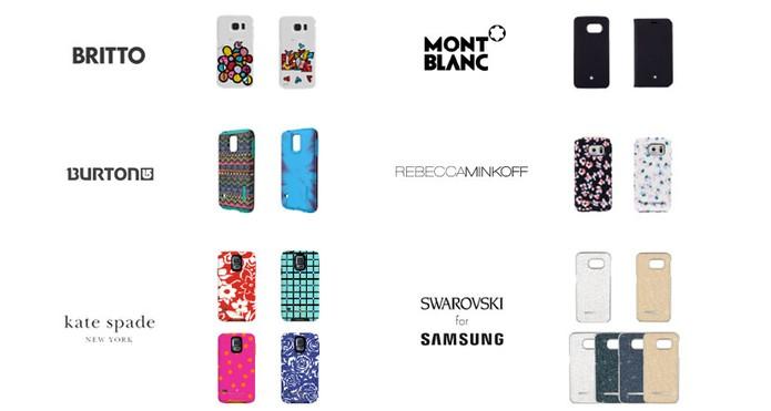 Capas de marcas famosas (Foto: Divulgação/Samsung)