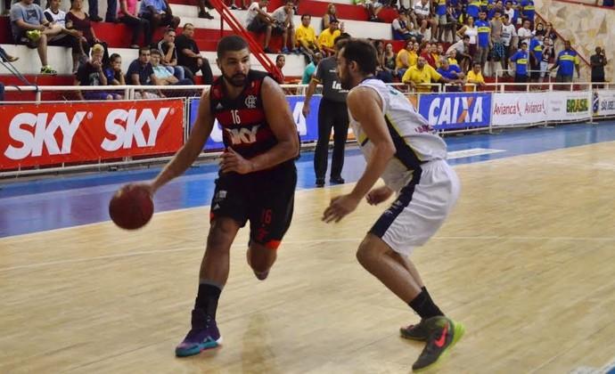 São José Basquete Flamengo NBB Lineu de Moura TR (Foto: Danilo Sardinha/GloboEsporte.com)