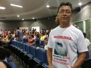 Representante da Apipa fala sobre maus tratos de animais (Foto: Catarina Costa/G1 PI)