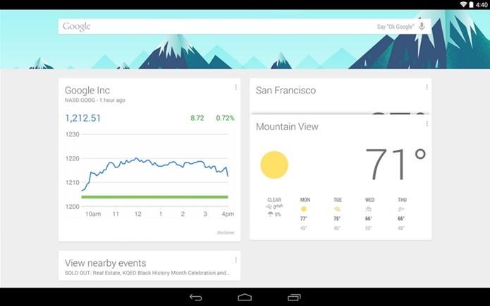 Google Now Launcher foi liberado para quase todos dispositivos Android (Foto: Divulgação/Google)
