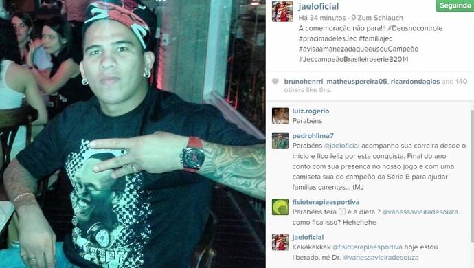 Jael instagram (Foto: Reprodução/instagram)