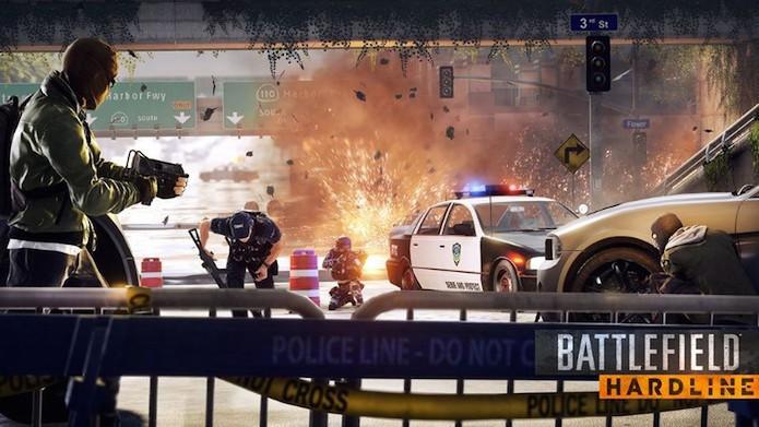 Battlefield Hardline: como mudar a dublagem do game (Foto: Divulgação/EA)