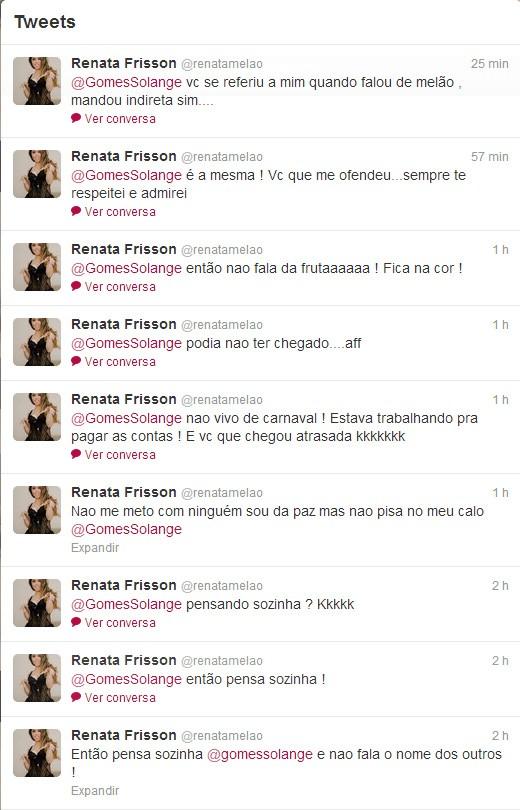 Renata Frisson (Foto: Twitter/ Reprodução)