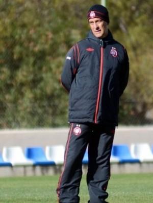 Ricardo Drubscky, técnico do Atlético-PR (Foto: Divulgação/Site oficial do Atlético-PR)