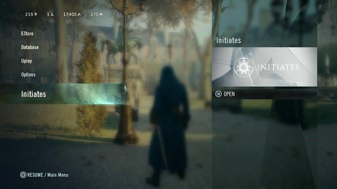 Abra o menu do modo de recompensas pelo botão de pausa (Foto: Reprodução/Thiago Barros)