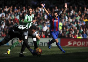 Betis x Barcelona (Foto: Reuters)
