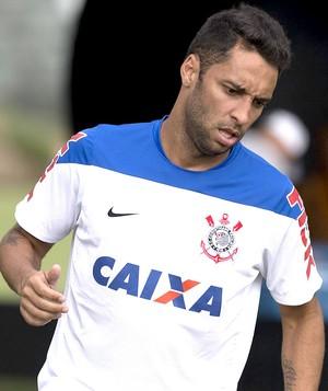 Ibson no treino do Corinthians (Foto: Daniel Augusto Jr. / Agência Corinthians)