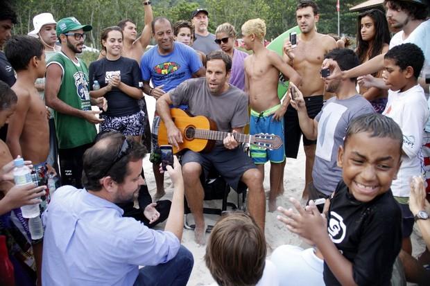 Jack Johnson (Foto: Marcos Ferreira e Johnson Parraguez / photo rio news)