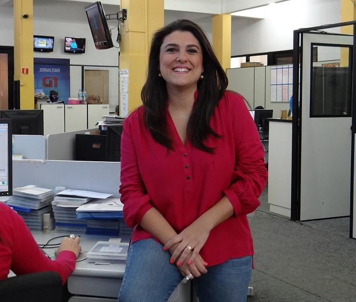 apresentadora Janaina Hohne (Foto: Priscila Marques)