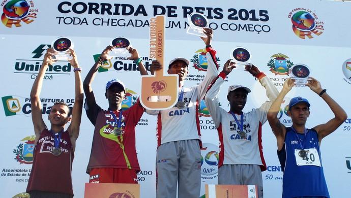 Vencedores da Corrida de Reis 2015 (Foto: Leandro J. Nascimento)