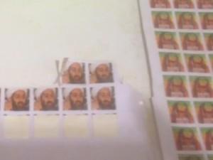 Selos de Bob Marley e do terrorista Bin Laden eram usados para identificar a droga (Foto: Divulgação / Polícia Civil)
