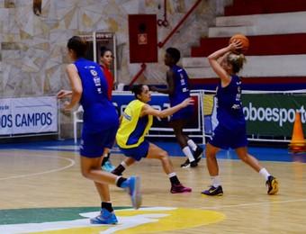 São José Basquete Feminino (Foto: Danilo Sardinha/GloboEsporte.com)