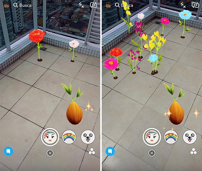 Plante um jardim virtual em qualquer lugar (Foto: Reprodução/Paulo Alves)