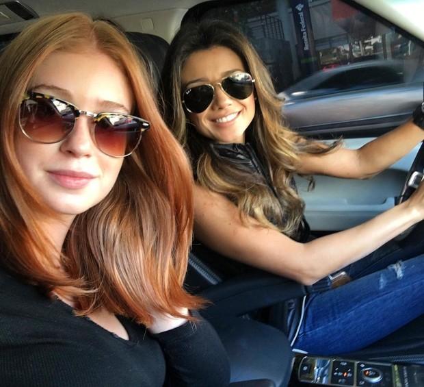 Marina Ruy Barbosa e Paula Fernandes (Foto: Reprodução / Instagram)