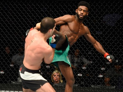 Aljamain Sterling x Augusto Tanquinho UFC Kansas CIty (Foto: Getty Images)