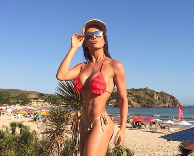 Fernanda D'avila afirma que gosta de ser observada (Foto: Arquivo Pessoal)