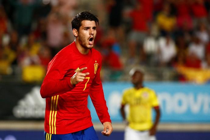 Morata gol Espanha (Foto: Reuters)