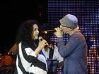Gal Costa canta com Zeca Baleiro na turnê do Prêmio da Música Brasileira