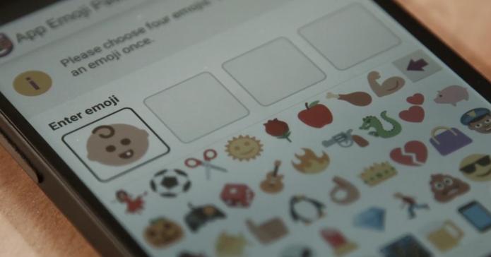 Empresa britânica cria projeto para usuários combinarem senhas de emojis (Divulgação/ Intellligent Environments)
