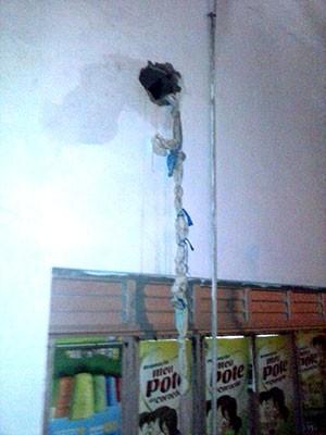 'Teresa' foi usada em tentativa de fuga em Macaíba (Foto: Divulgação/Coape)
