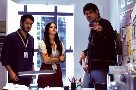 Marcos Veras, Giovanna Lancellotti e André Pellenz (Foto: Páprica Fotografia)